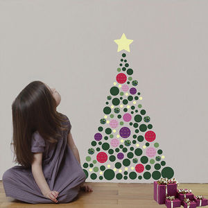 ART FOR KIDS - sticker sapin de noël et guirlande phosphorescente - Christmas Decoration