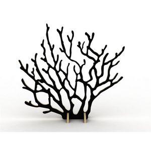 ESTAMPILLE 52 - arbre porte bijoux coralie bordeaux - Jewellery Box
