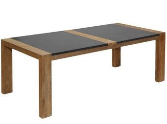 Marbrerie Rouillon - bombay - Rectangular Dining Table