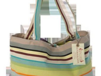Les Toiles Du Soleil - sac plage st colombe - Shopping Bag