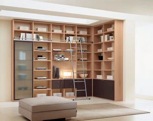 Cia International - quasar day - Corner Bookcase
