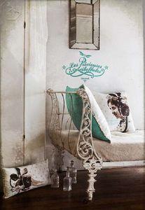 LES PRÉCIEUSES LIBELLULES -  - Rectangular Cushion