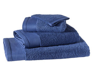 BLANC CERISE - drap de douche - coton peigné 600 g/m² - uni - Towel