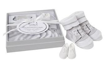 Mathilde M - coffret mes premiers pas bébé garçon (3 paires de - Newborn Gift Box