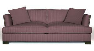 Georges Le Manach - armuré myrtille - Furniture Fabric