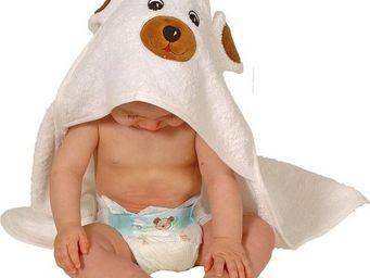 SIRETEX - SENSEI - cape de bain en forme d'ours - Hooded Towel
