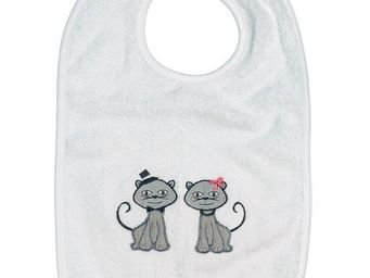 SIRETEX - SENSEI - bavoir scratch cat dinner - Bib