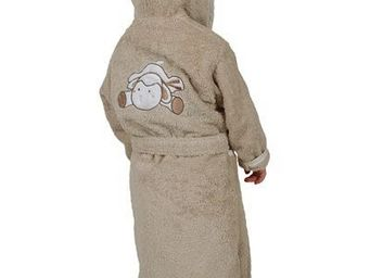 SIRETEX - SENSEI - peignoir enfant brodé doudou mouton - Children's Dressing Gown