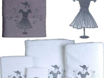 SIRETEX - SENSEI - serviette invité 30x50cm brodée gala - Guest Towel