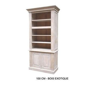 DECO PRIVE - bibliotheque en bois ceruse louis - Bookcase