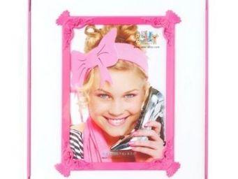 Present Time - cadre photo passepartout - couleur - rose - Photo Frame