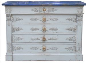 Moissonnier - empire - Chest Of Drawers