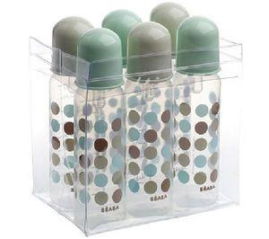 Beaba - 6 biberons bb d'amour bleu - Baby Bottle
