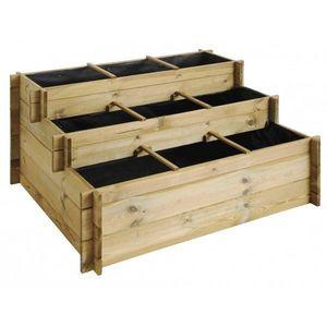 JARDIPOLYS - carré potager 3 étages up - Garden Box