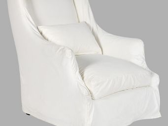 BLANC D'IVOIRE - simon - Armchair With Headrest