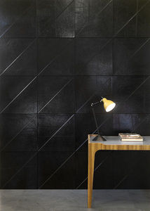 CUIR AU CARRÉ -  - Leather Tile