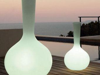 VONDOM - vase vondom chemistubes flask, led rgb - Illuminated Pot