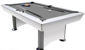 Supreme - crosby 7 ft américain blanc - Billiard Table