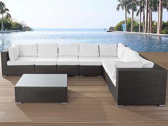 BELIANI - grande - Garden Furniture Set