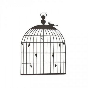 Demeure et Jardin - cage murale porte mémo - Birdcage
