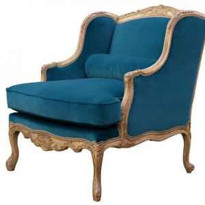 Moissonnier - regence - Wingchair With Head Rest