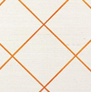 Phillip Jeffries - trellis embroidery - Wall Fabric