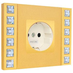 FEDE - crystal de luxe décor collection - Floor Plug