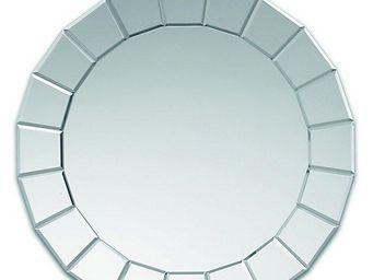 WHITE LABEL - solaris miroir mural design en verre - Porthole Mirror
