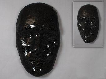 WHITE LABEL - masque extase noire. - Mask