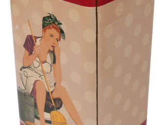 Antic Line Creations - poubelle de cuisine vintage - Kitchen Bin
