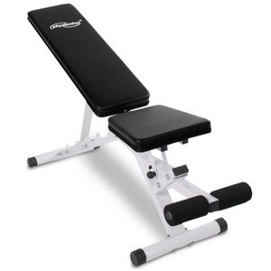 WHITE LABEL - banc de musculation abdominaux inclinable - Exercise Bench