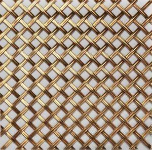 BRASS - g02 003 5x10 - Decorative Mesh