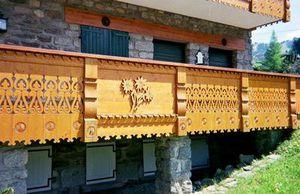 Boivin - à palines gravées - Stair Railing