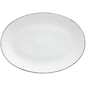 Raynaud - atlantide platine - Oval Dish