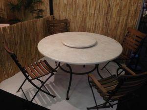 BE-TEK LTD. STI. -  - Round Garden Table