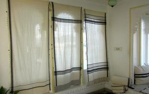 INJIRI -  - Tab Top Curtain
