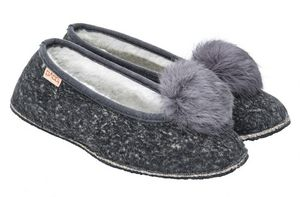 BABBI - coyote marble grey - Slippers
