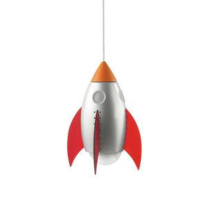 Philips - rocky - suspension fusée multicolore h26,7cm | lum - Children's Hanging Decoration