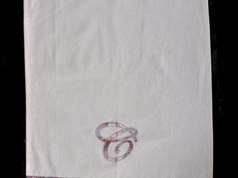Coquecigrues - torchon dame tartine - Tea Towel