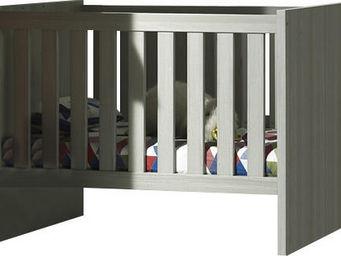 WHITE LABEL - lit bébé 60x120 moderne et transformable coloris - Travel Cot