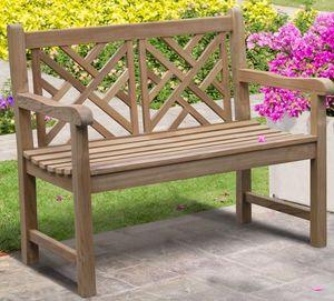 Lindsey Teak -  - Garden Bench