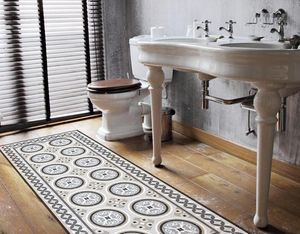 LE GRAND CIRQUE - rosace beige - Adhesive Floor Covering