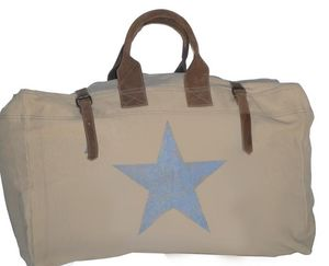 SHOW-ROOM - blue star - Travel Bag
