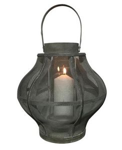 BYROOM - round wood - Outdoor Candle Holder