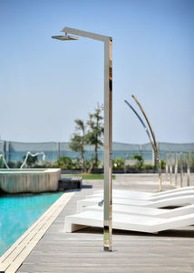 INOXSTYLE - tecno cube l zoe - Outdoor Shower