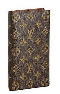 Louis Vuitton - monogram - Cheque Book Case