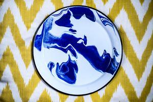 LES-OTTOMANS - enamel marble  - Plate Mat