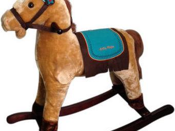 Imagin - cheval à bascule sons petit indien - Rocking Horse