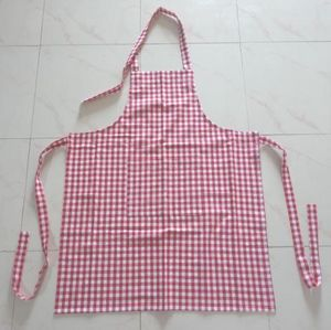 ITI  - Indian Textile Innovation - gingham check - Kitchen Apron