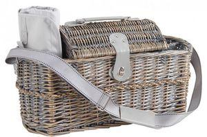 AUBRY GASPARD - panier pique-nique isotherme en osier - Picnic Basket